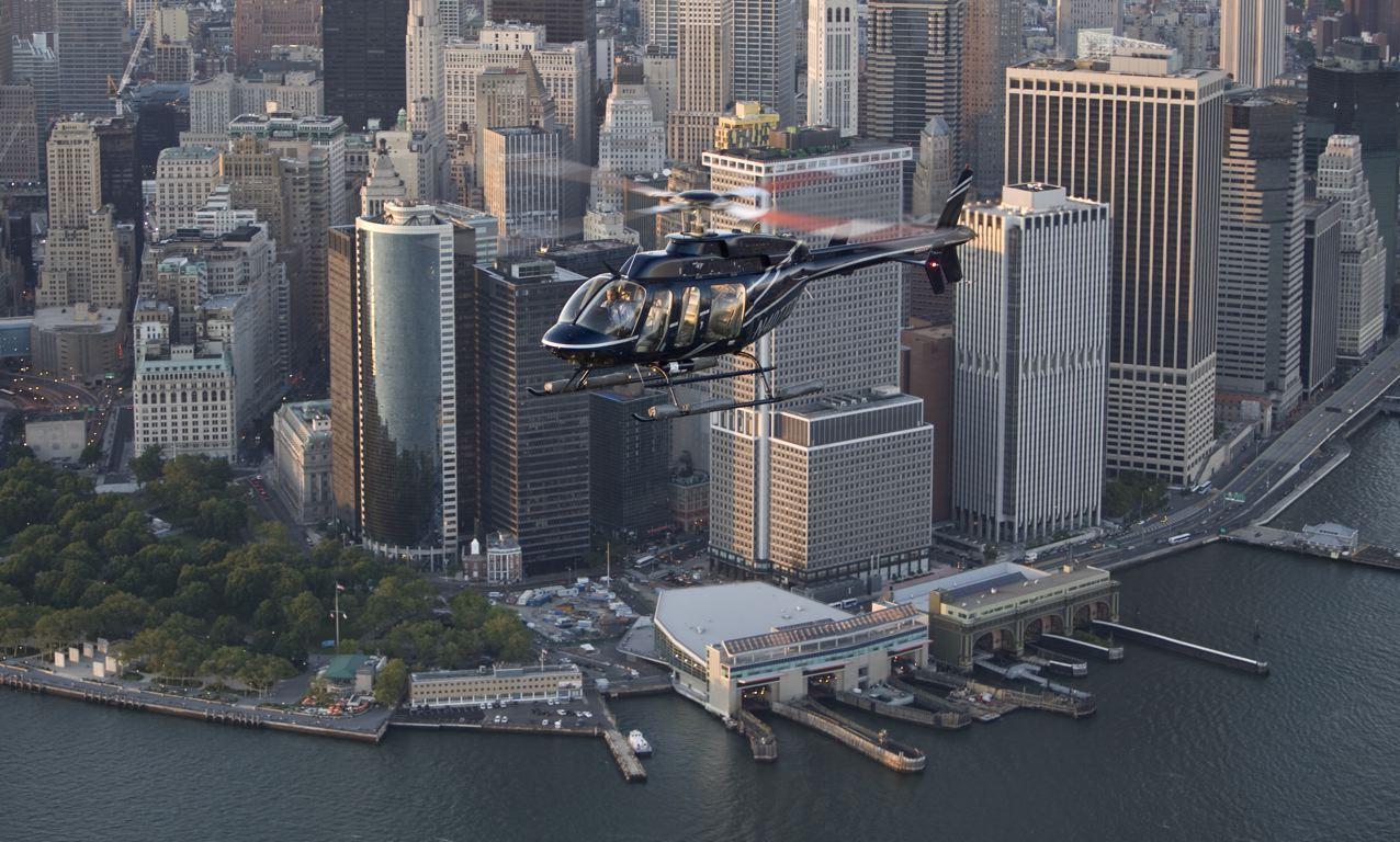 空中から、海上から! VIP気分でニューヨーク!