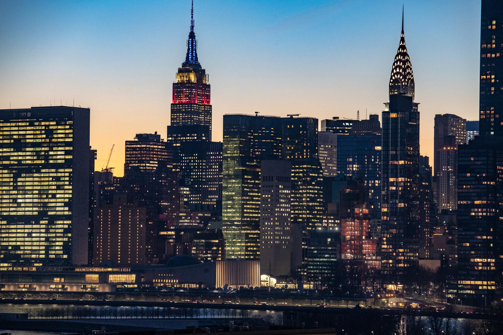 3大夜景ツアー(エンパイアステートビル展望台・ニュージャージーやブルックリンのスポット)