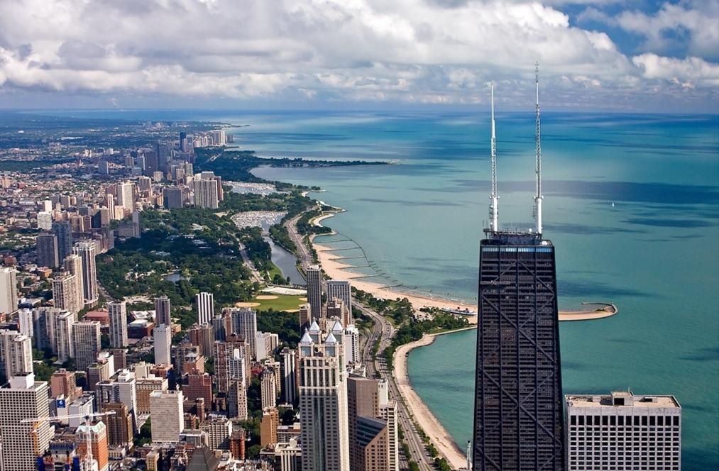 シカゴ半日市内観光