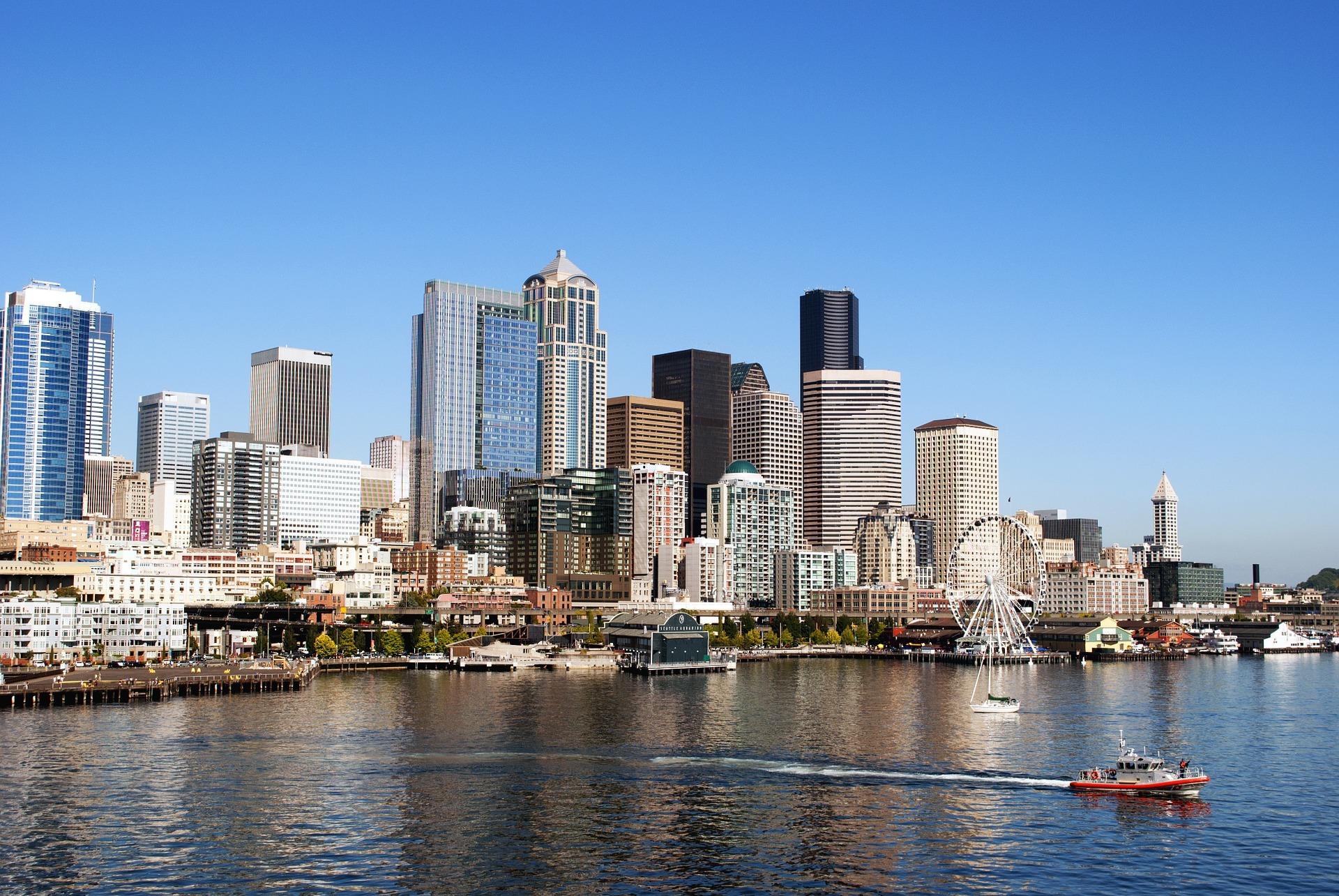 シアトル半日市内観光