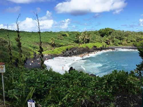 【マウイ島日帰り】天国のハナと東マウイ1日観光