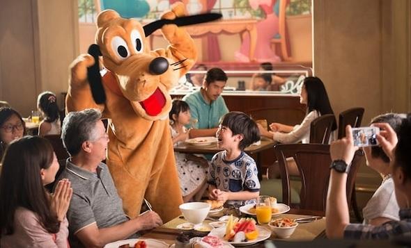 上海ディズニーランドホテル (ルミエールのキッチン) レストラン 予約 代行