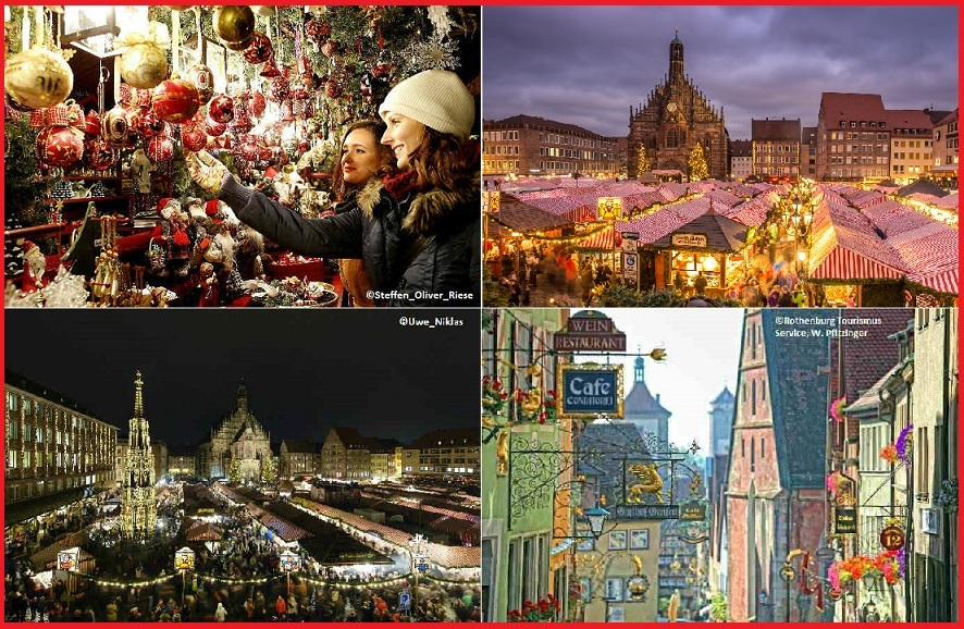 [マイバス]<クリスマス限定>ニュルンベルク&ローテンブルクのクリスマスマーケット巡り(日本語アシスタント付き)