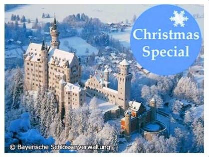 [みゅう]【11月29日〜12月22日の金・土・日曜限定】ノイシュヴァンシュタイン城、世界遺産ヴィース教会とアウグスブルクのクリスマスマーケット