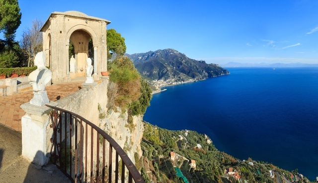 [プライベートツアー]ローマから行くアマルフィー海岸・アマルフィーとラヴェッロ観光プラン