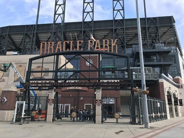 サンフランシスコ ジャイアンツ球場 見学ツアー