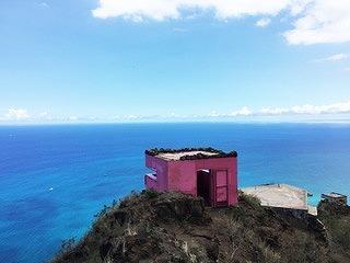 【観光未開の地~オアフ島西海岸】ピンクのピルボックス&マーメイドケイブ