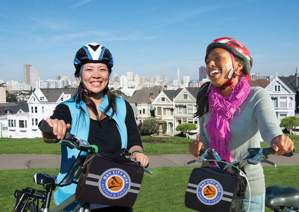電動自転車で行くサンフランシスコ市内観光