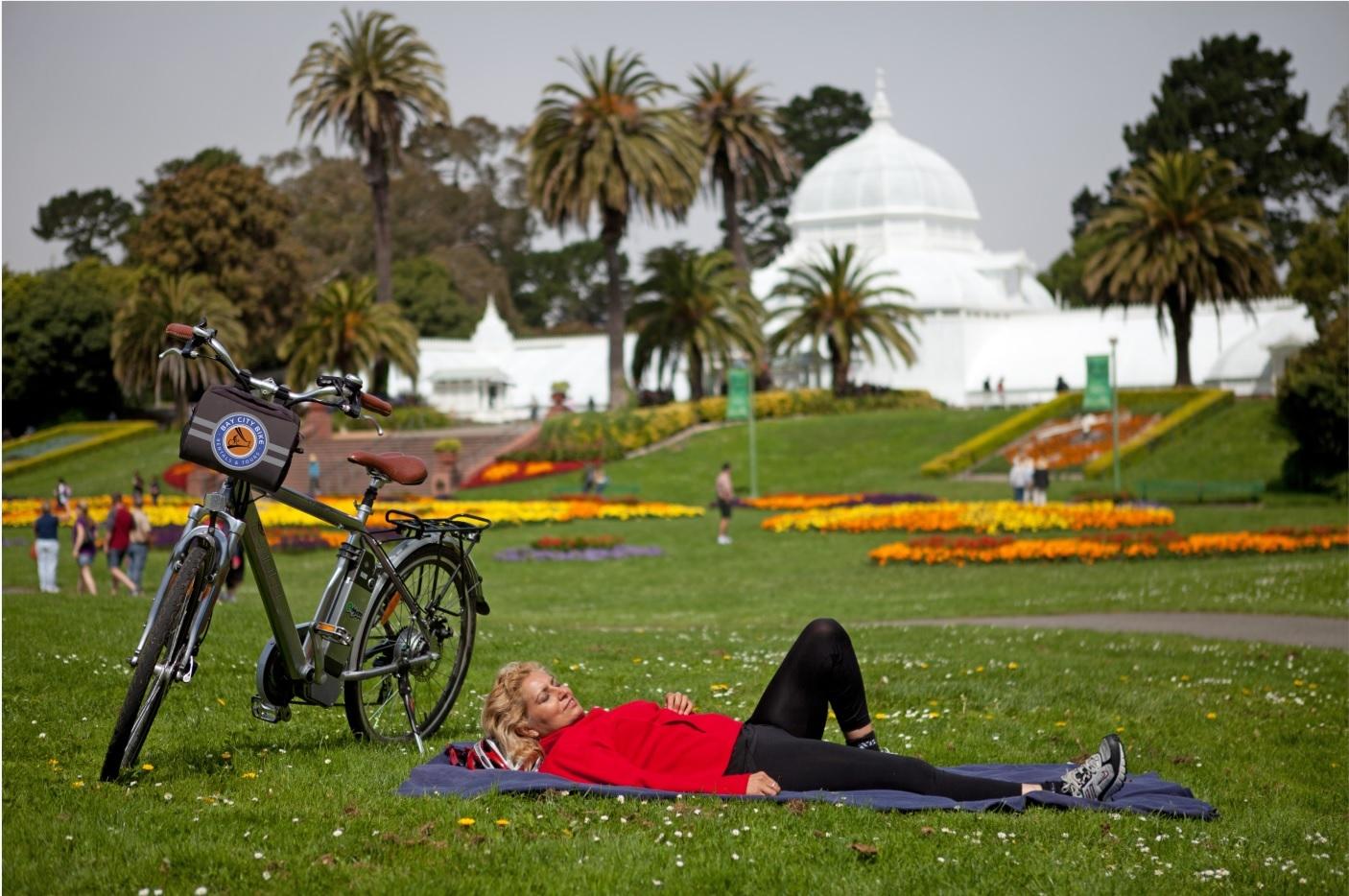 自転車で行くゴールデンゲートパークツアー