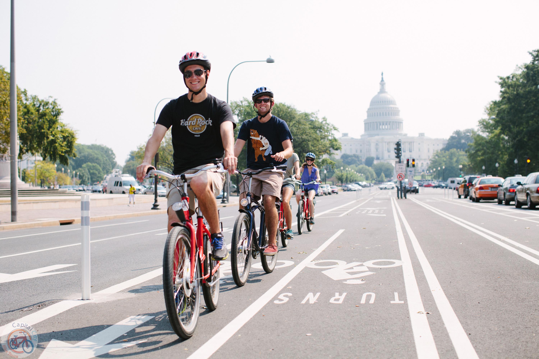 自転車で快適に!! ワシントンDC ツアー