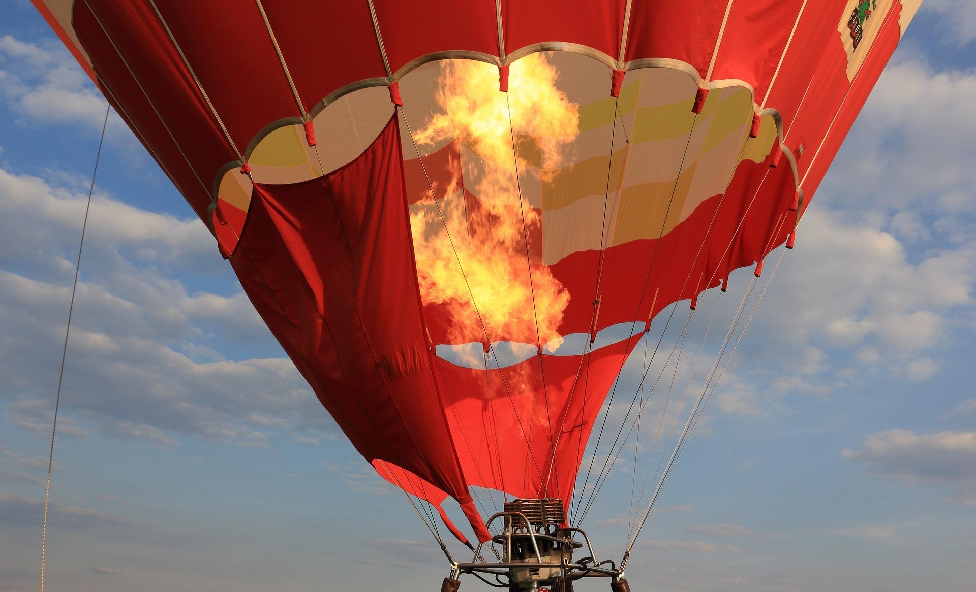 熱気球ライド