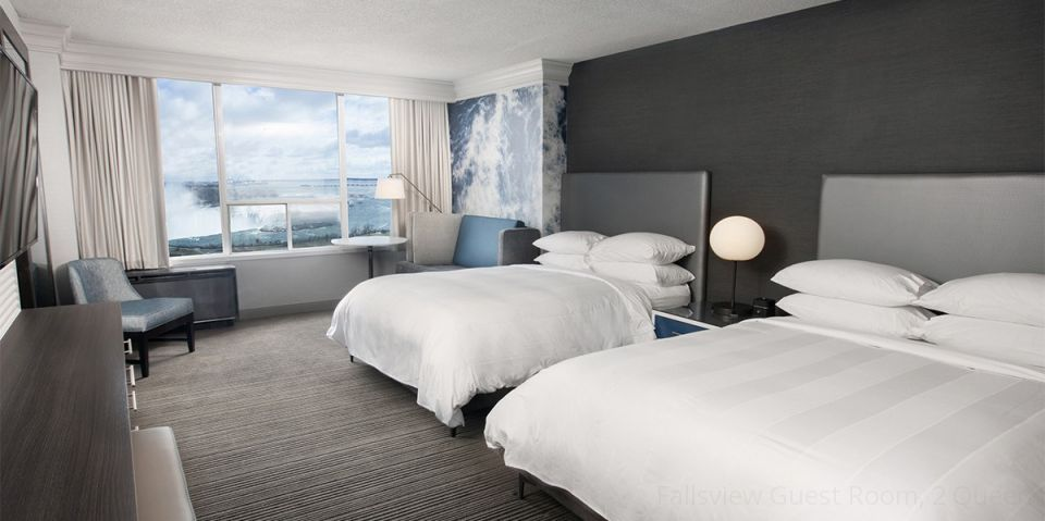 ナイアガラ2泊3日 デラックスクラスホテル/滝側のお部屋指定 (夏季2018年4月〜10月出発)