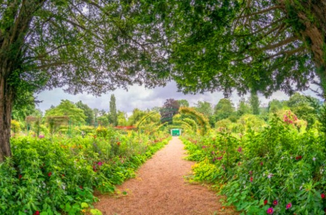 パリ発音声ガイド付きジヴェルニーのモネの庭園半日観光ツアー