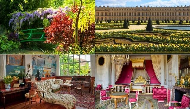 音声ガイドによるジヴェルニーとヴェルサイユ宮殿の観光