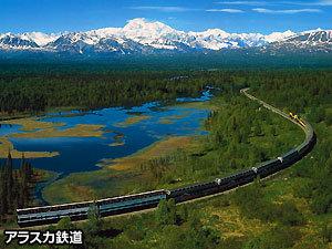 【期間限定】夏のアラスカ アラスカ鉄道展望車で行くデナリ国立公園 5日間