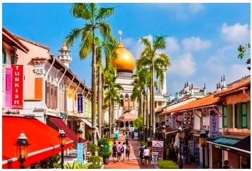 【シンガポール】魅惑のアラブストリート散策ツアー