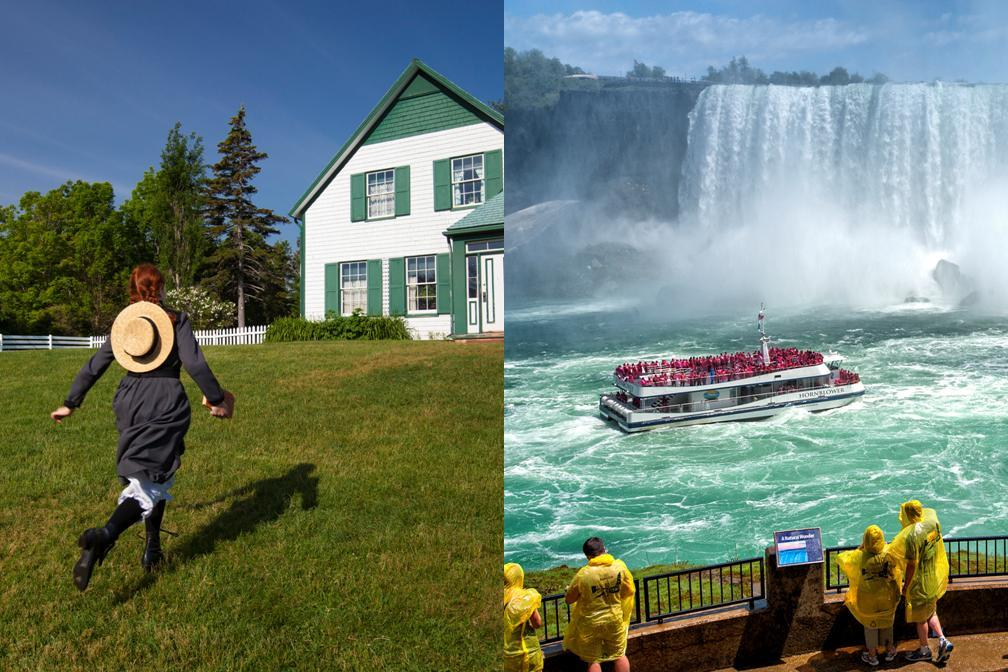 【東部の大人気2都市】ナイアガラの滝+❤憧れの赤毛のアンの島❤ 4泊5日パッケージ