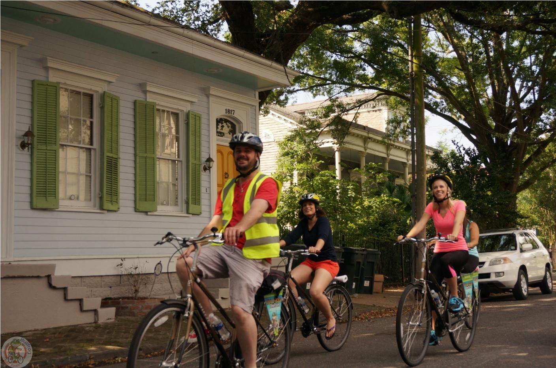 自転車に乗って! フレンチ クォーター ツアー