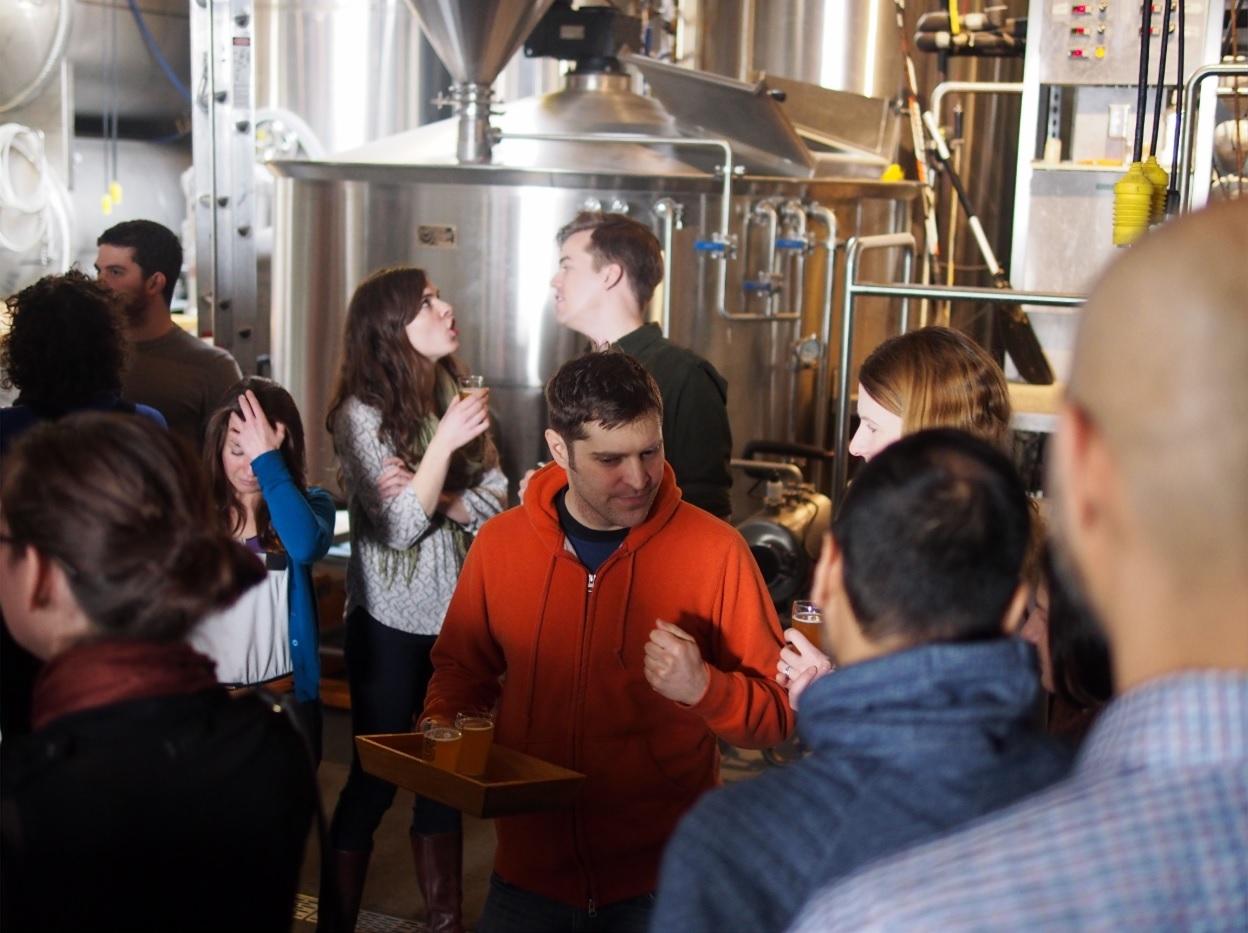 NYC ビール醸造所 ウォーキング ツアー