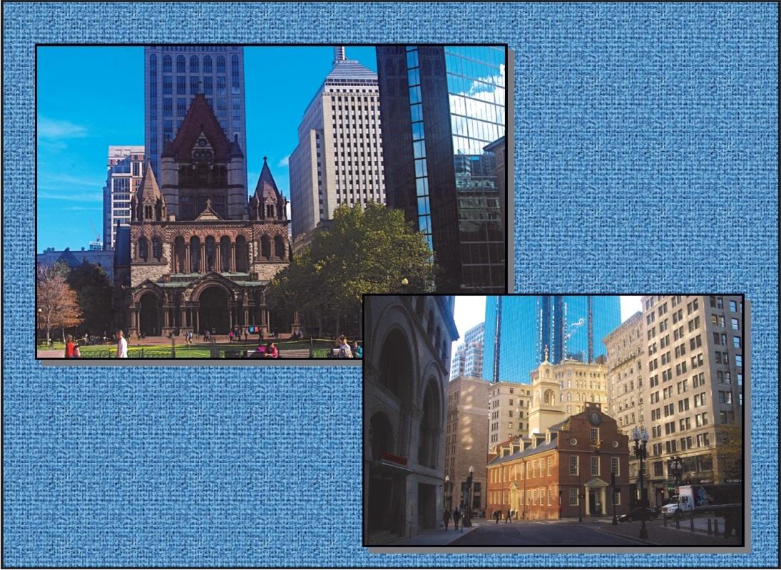 ボストン市内観光 + ケンブリッジ、レキシントン & コンコルド