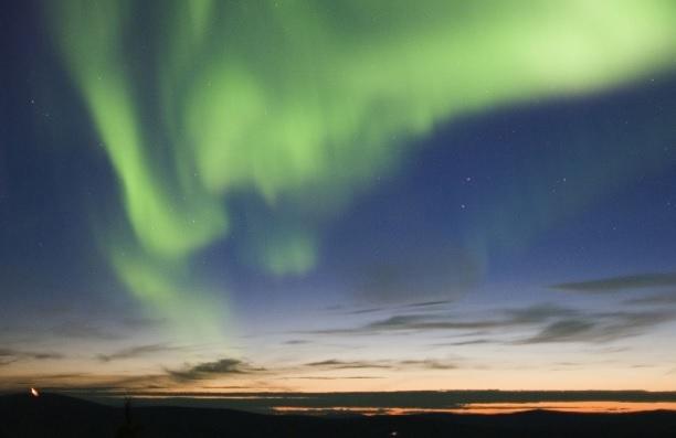 オーロラを求めて! 冬のアラスカ4日間 フェアバンクス滞在コース