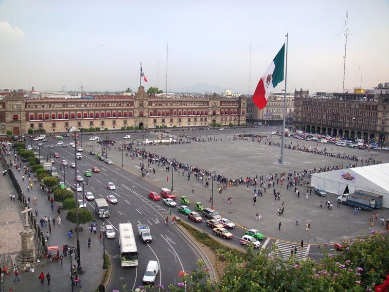 メキシコシティ&テオティワカン&国立人類学博物館観光