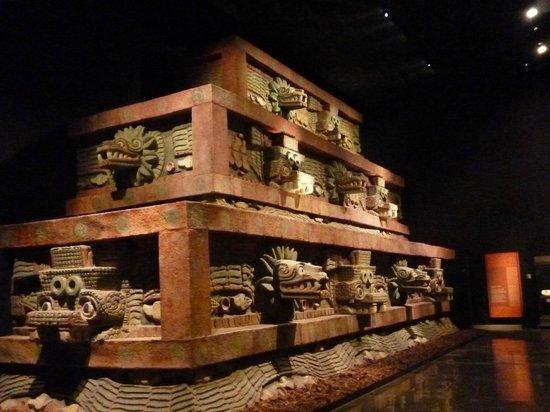 メキシコ国立人類学博物館観光  << 指定ホテル送迎プラン >>