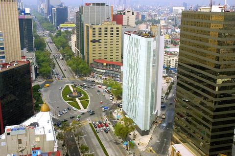 メキシコシティ市内&国立人類学博物館観光