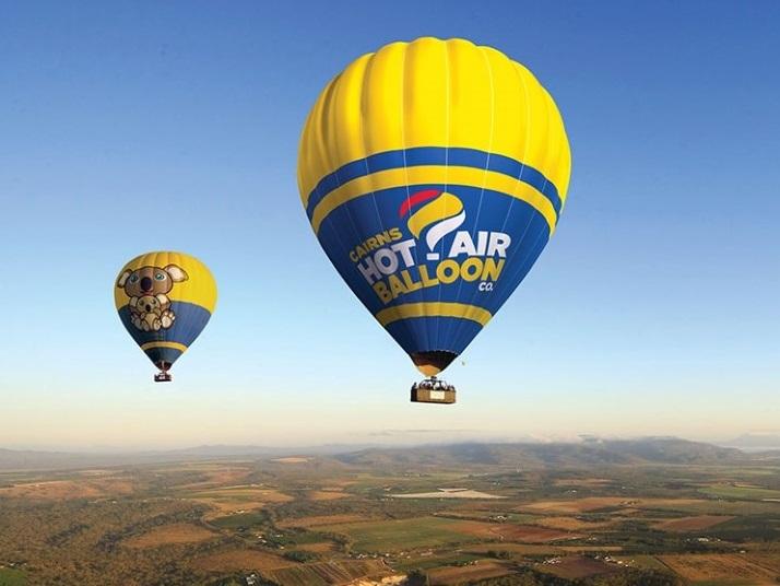 熱気球フライト60分フライト/朝食&シャンパン付き/気球記念フォト無料プレゼント