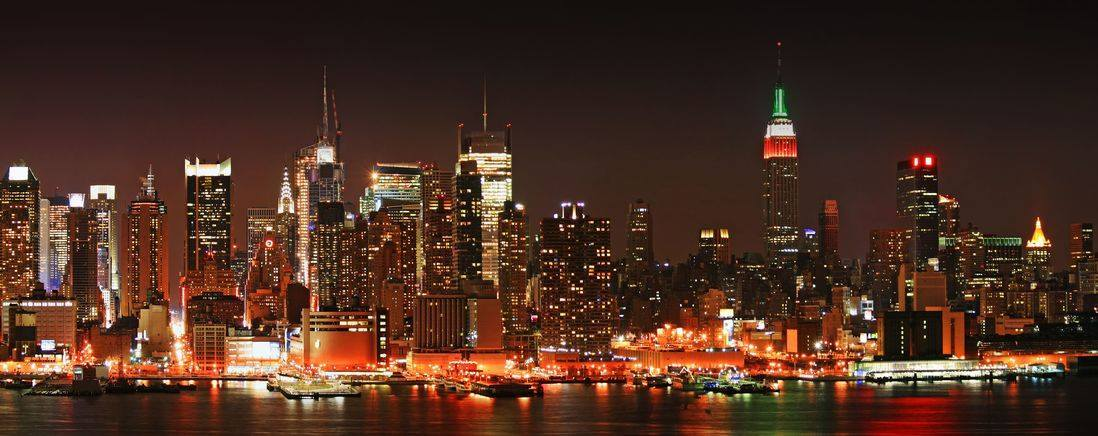 ヘリコプター夜景遊覧飛行 【 25〜30分コース (The City Lights Experience) ニュージャージー発】