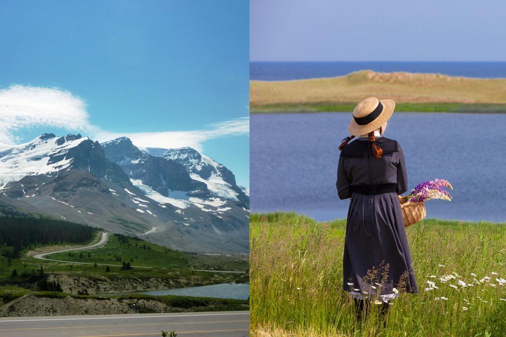 【カナダの大自然満喫】ロッキー山脈 と 憧れの赤毛のアンの島❤ 4泊5日