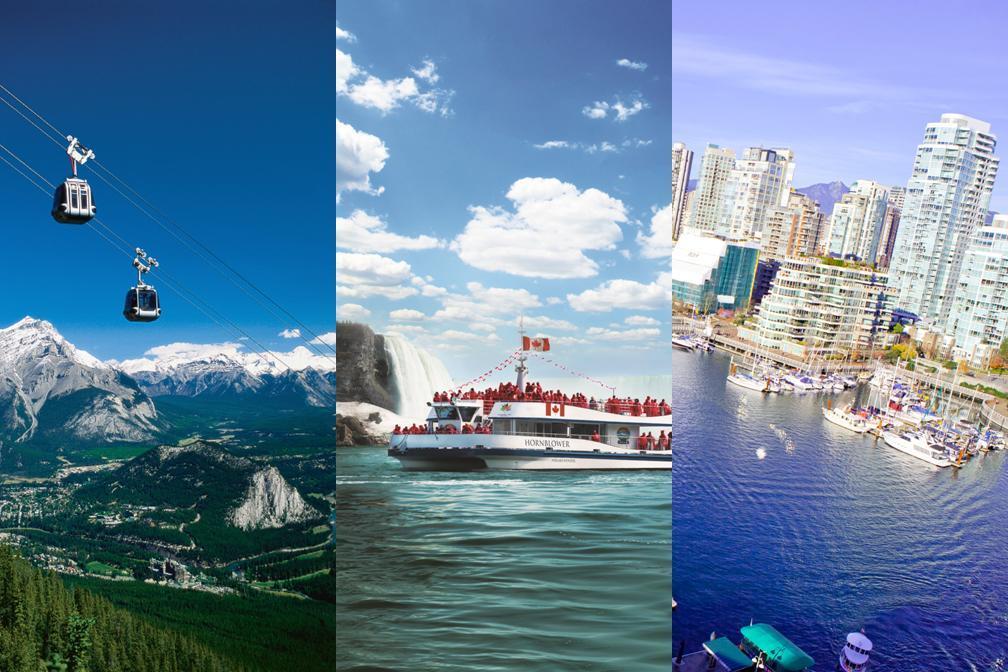 【人気コース】 バンクーバー、カナディアンロッキー&ナイアガラの滝  6泊7日 日本語パッケージ
