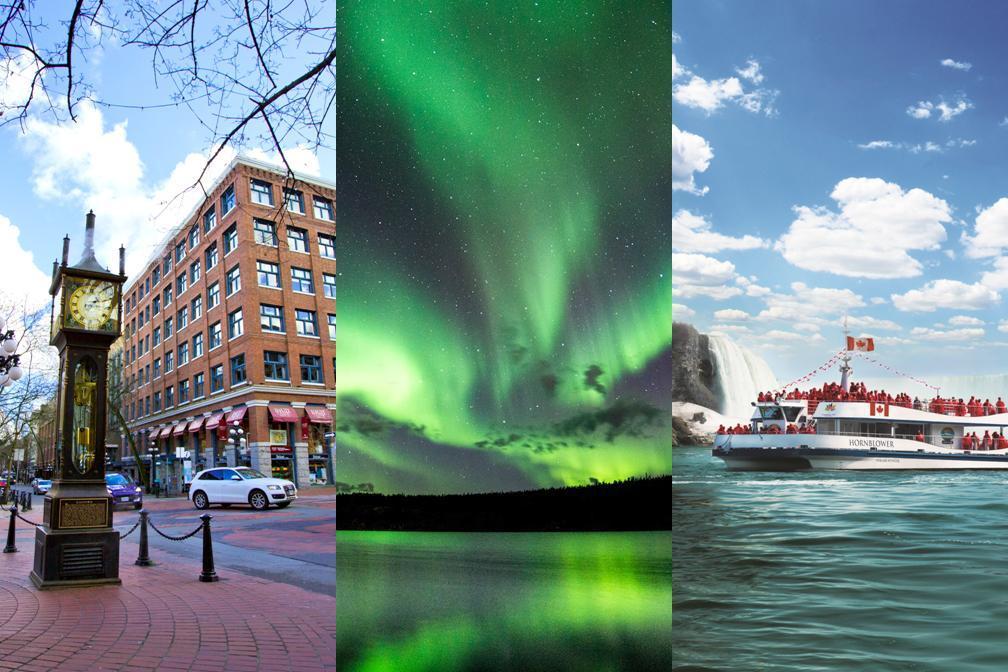 3都市を巡る 夏オーロラとバンクーバー、ナイアガラ 7泊8日