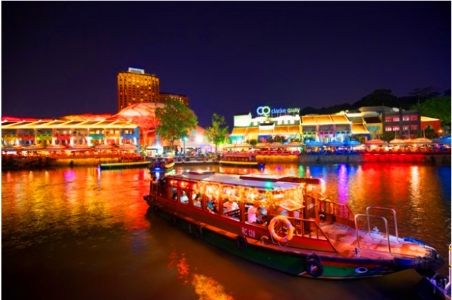 【キラキラ夜景ボート】JTB貸切リバーボートでキラキラ夜景観賞