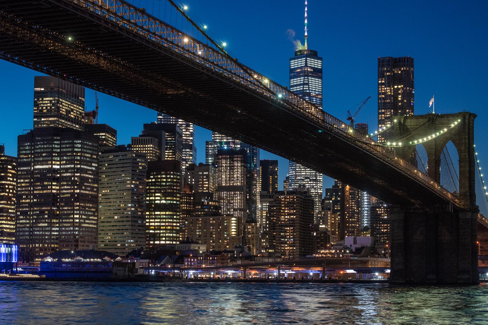 2大夜景ツアー(ニュージャージーとブルックリンのスポット)