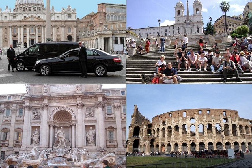 【午前プラン】コロッセオ入場付きローマ市内プライベート午前観光(専用車+日本語公認ガイド)