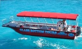 マニャガハ島送迎(往路グラスボトムボートツアーにて移動)