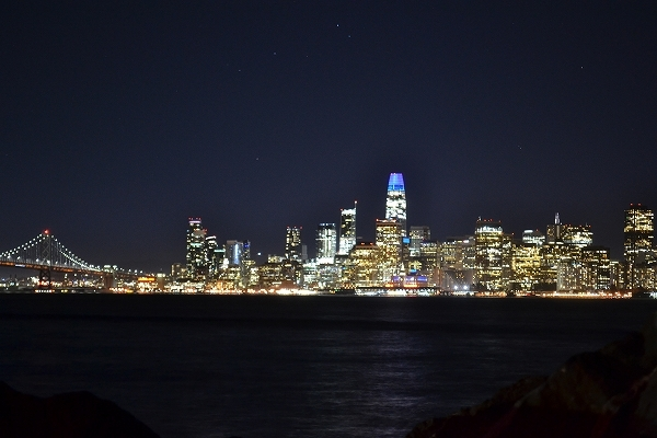 サンフランシスコ2大夜景鑑賞ツアー