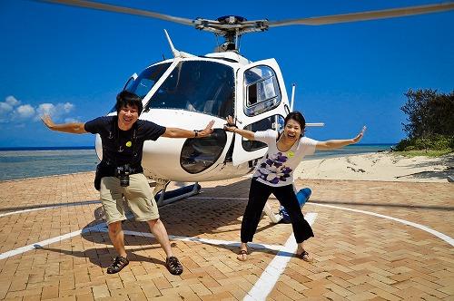 ヘリコプターで行くグリーン島&アウターリーフ(フライ&クルーズ&クルーズ)