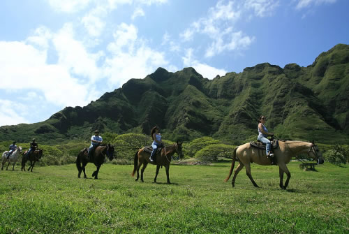 【クアロア牧場】乗馬ツアー(1時間・2時間)