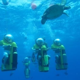【水中スクーター】ボブズ・ハワイ・アドベンチャーズ