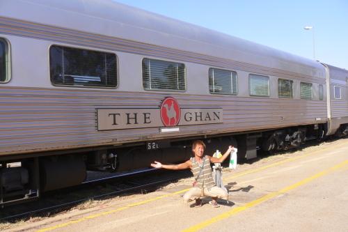 列車の旅 ザ・ガン (アデレード TO アリススプリングス)