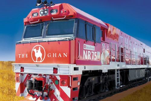 列車の旅 ザ・ガン (アリススプリングス TO アデレード)