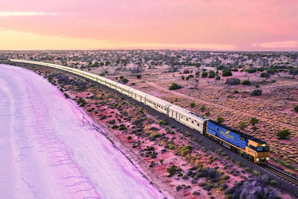列車の旅 インディアン・パシフィック (パース TO アデレード)