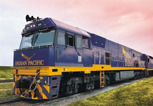列車の旅 インディアン・パシフィック (アデレード TO シドニー)
