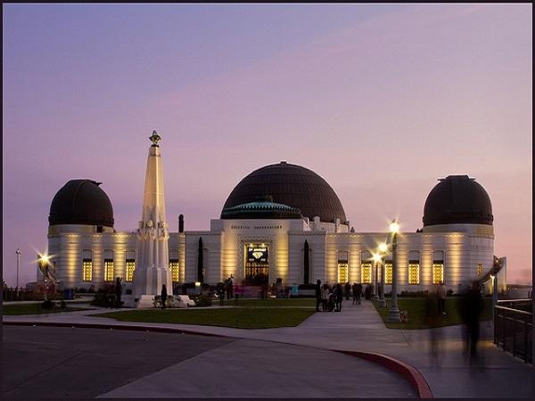 【ロサンゼルス人気No.1夜景スポット♪】 グリフィス天文台夜景ツアー