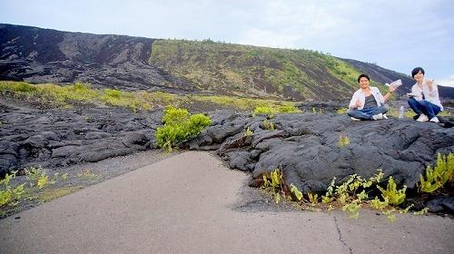 【ハワイ島日帰り】溶岩ウォーク・ナイト・ツアー