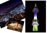 【ソウルお手軽ロマン】Nソウルタワーと南大門市場夜景ツアー