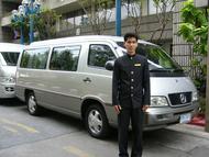 (T04) 空港からホテル(バンコク市内)へのご送迎(リムジン・バン)