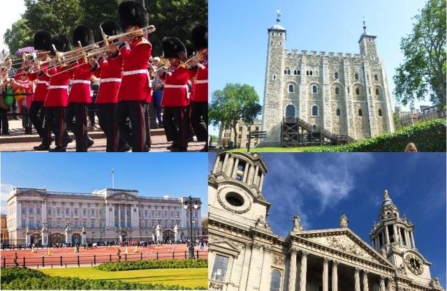 【プライベート】専用車&ガイド ロンドン市内半日観光 2箇所選べる観光と選べるランチ付き!